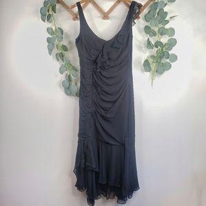 Elie Tahari Amy Ruffle Dress Size 8 NWT